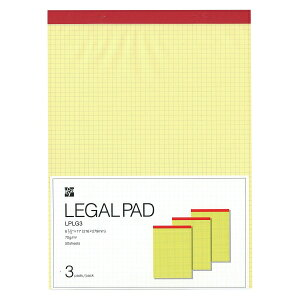 リーガルパッド A4変型サイズ(Lサイズ)用紙サ...