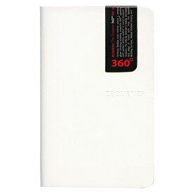 A6変型 ZEQUENZ/ジークエンス360 ミニ 横罫 ホワイト ZQ214 WH「あす楽対応」