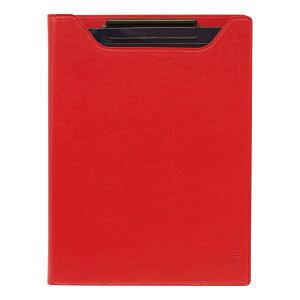 A4サイズ ロルバーン ノートパッドクリップカバー 合皮【レッド】 500590-126【あす楽対応】