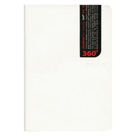 B6 ZEQUENZ/ジークエンス360 スリム M 横罫 ホワイト ZQ242 WH「あす楽対応」