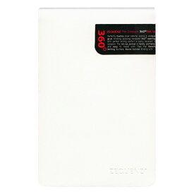 A6変型 ZEQUENZ/ジークエンス360 スリムリポーターL 横罫 ホワイト ZQ266 WH「あす楽対応」