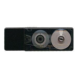 ミドリ/デザインフィル XS 修正テープ【黒】 35262-006【あす楽対応】