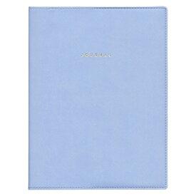 【マークス】A5サイズ トライアルリフィル入り 無地【ブルー】システム手帳バインダー ODR-DC01-BL 【あす楽対応】
