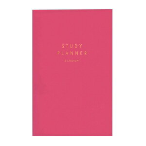 STUDY PLANNER/スタディプランナー 勉強用手帳【ピンク】 GSS-01【あす楽対応】