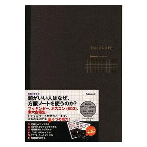 ナカバヤシ シンクノート/Think NOTE B5サイズ 5mm 方眼グレー印刷 ノ-B552S-DN【あす楽対応】