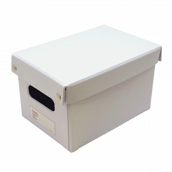 【DELFONICS/デルフォニックス】ビュロー ボックス 深型 M【ホワイト】 500319 100 【あす楽対応】