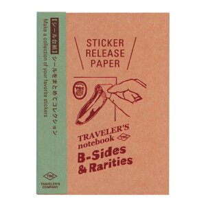 ミドリ/デザインフィル トラベラーズノート パスポートサイズ リフィル シール台紙 14437006【あす楽対応】