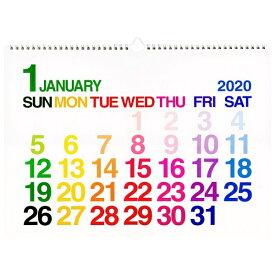 A3カレンダー 壁掛け【ホワイト】 2020年1月から2020年12月対応 CLC-A3-01【あす楽対応】