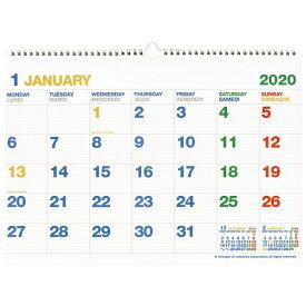 A3カレンダー 壁掛け 2020年1月から2020年12月対応 CLK-A3-01【あす楽対応】