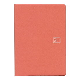 ブラウニー手帳 A6 ヨコタテ使い レッド 2019年11月から2020年12月対応 B20106「あす楽対応」