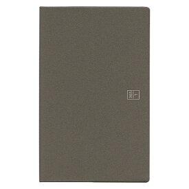 ブラウニー手帳 A5スリム ヨコタテ使い グレー 2019年11月から2020年12月 B20109「あす楽対応」