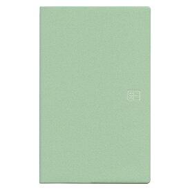 ブラウニー手帳 A5スリム ヨコタテ使い グリーン 2019年11月から2020年12月 B20110「あす楽対応」