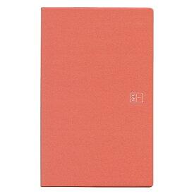 ブラウニー手帳 A5スリム ヨコタテ使い レッド 2019年11月から2020年12月 B20112「あす楽対応」
