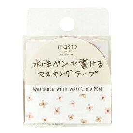 水性ペンで書けるマスキングテープ/小巻/マステ 15mm×10m【フラワー・コバナ】 MST-FA23-B【あす楽対応】