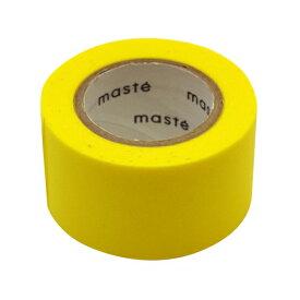 水性ペンで書けるマスキングテープ/小巻/マステ 24mm×10m【イエロー】 MST-FA05-YE【あす楽対応】