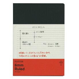 【Knox/ノックス】A5サイズ PLOTTER/プロッター 6mm罫線 ノートパッド 80枚 77716715 【あす楽対応】