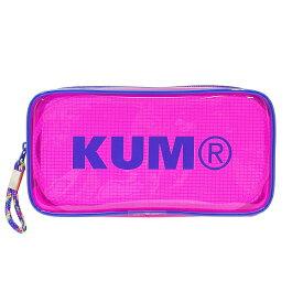 KUM クリアペンポーチ 【ピンク】 KM175P【あす楽対応】