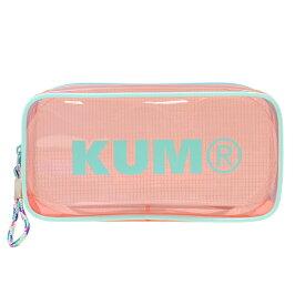 KUM クリアペンポーチ 【パステルピンク】 KM175PQ【あす楽対応】