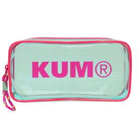 KUM クリアペンポーチ 【パステルブルー】 KM175PA【あす楽対応】