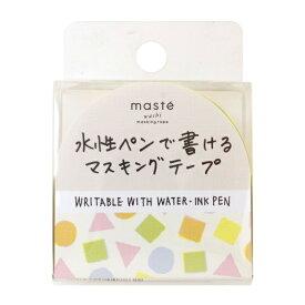 水性ペンで書けるマスキングテープ/小巻/マステ 15mm×10m 【つみき】 MST-FA21-J【あす楽対応】