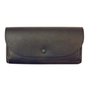 【送料無料(一部地域除く)】AZ くるみボタン財布 Lサイズ【ネイビー】アリゾナ イタリアンレザー プレゼント IAZ-1502 NV【あす楽対応】