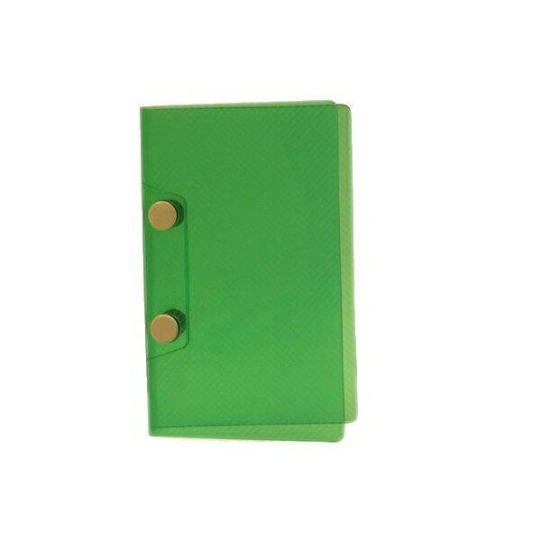 【エイチ・エス】ミニ5サイズ 2穴 システム保存 バインダー【グリーン】 HS42300-Sグリーン 【あす楽対応】