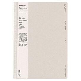 【LACONIC/ラコニック】B5サイズ ノンブル付きノート(ページ番号付き)6mm横罫 LG25-70 【あす楽対応】