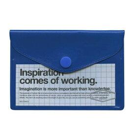 DELFONICS/デルフォニックス ビニールカードケース 【ブルー】CC15 500107-386【あす楽対応】