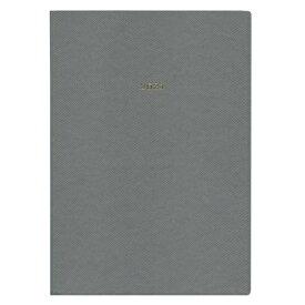 2021年 手帳 A5変型 週間ノート スープル・プリュス 【モスグレー】 21WDR-ETH01-GY【あす楽対応】