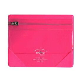 【HIGHTIDE/ハイタイド】Nahe/ネーエ ガセットポーチ S【ピンク】 GB221-PI 【あす楽対応】