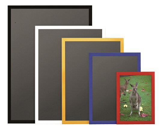 アルテニューアートフレームカラー サイズB3(364×515),パネル,額,額縁,額ぶち,POP,インテリア,店舗,お店,店舗用品,事務用品,店舗什器,看板,サインディスプレイ,ショップ,掲示板,案内板,レッド,ブルー,イエロー,ブラック,ホワイト,赤青黄色黒白カラーバリエーション豊富