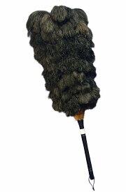 エスキー毛ばたき ファーストクラスフェザー オーストリッチ毛ばたき 梅 ブラック