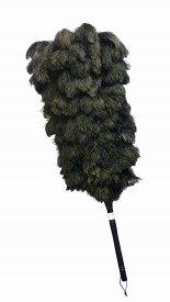 エスキー毛ばたき ファーストクラスフェザー オーストリッチ毛ばたき 竹 ブラック
