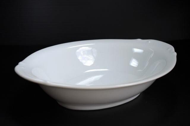 洋食器カレー皿・白耳付9インチベーカー23.6cm SKA★アウトレット品★