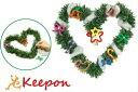 クリスマスリース作りクリスマスグッズ/イベント/ミニリース/手作りキット/工作キット/景品/子供会/安い/diy/飾り/材料