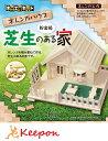 芝生のある家(メール便可能)加賀谷木材 中級木工工作キット 自由研究 レンガ 貯金箱