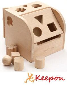 木のおもちゃ アイデアBOX(パズル)だいわ 木製おもちゃ プレゼント/パズル/絵合わせ/誕生日/出産祝い/クリスマス/ラッピング/形合わせ