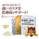 ビタミンD 乳酸菌 ラクトフェリン 乳酸菌+酵母 ProMIX(31包入/約1ヶ月分)| ケフィア 酪酸菌 サプリメント ビフィズス菌 健康食品 食…