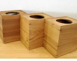 送料無料!オークヴィレッジ 森のインテリアシリーズ ダストボックス【Oak Village・オークビレッジ】 ゴミ箱