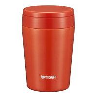 タイガー魔法瓶真空断熱スープジャー380ml保温弁当箱広口まる底チリレッドMCL-B038-RCTiger4904710421567