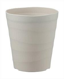 アップルウェアー クラフトポット18型WH 園芸 玄関 鉢 陶器風