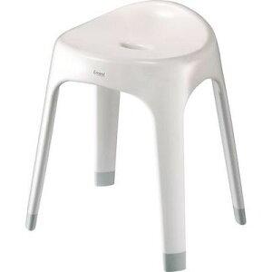 アスベル ASVEL エミールS40 ホワイト 高さ40cm 4974908564499 抗菌 銀イオン 椅子 浴室 浴用器物