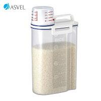 保存・保冷・保温密閉米びつ2kg