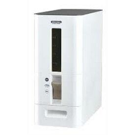 アスベル S計量米びつ 12kg ホワイト 4974908752896 洗える米びつ おしゃれ ライスストッカー 米櫃 お米 新米 キッチン 保存 劣化 送料無料
