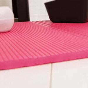 warm たためる パタッとスノコ レギュラーサイズ ピンク 浴室用品 4560126252753 お風呂マット すのこ