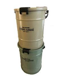 Ittoバケットサンドベージュフタ付バケツバックル式頑丈積み重ねOK17.4L大容量アウトドア収納