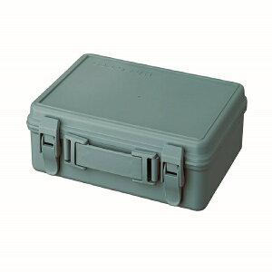 天馬 ハコットトランク ブルー 道具箱 ツールボックス 収納ボックス 工具箱 文房具箱 DIY ハンドメイド フタ付き 取っ手 マスキングテープ アウトドア 工具入れ レトロ かわいい おしゃれ プ