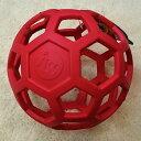 プラッツ ホーリーローラーボール Lサイズ レッド【犬用品】【大型犬用】【犬のおもちゃ】