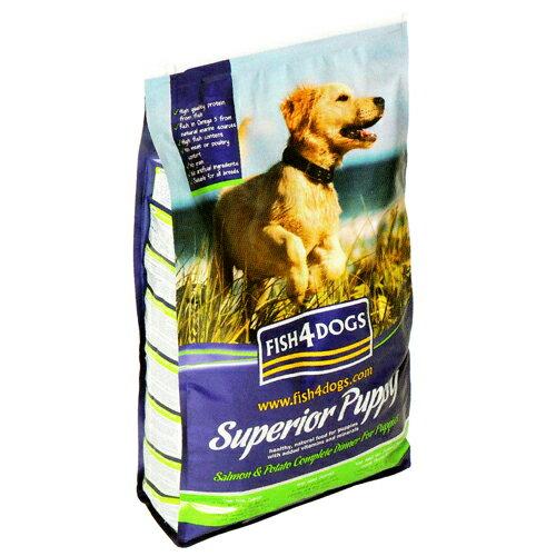 フィッシュ4ドッグ (FISH4DOGS) スーペリア パピー 12kg(6kg×2) 【海洋ナチュラルサプリメント配合】【総合栄養食】【犬用プレミアムフード】【ドライフード】