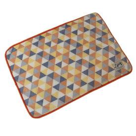 ライフライク プリズムブランケット Mサイズ オレンジ 【犬猫用品】【あったか用品】【毛布】【ブランケット】